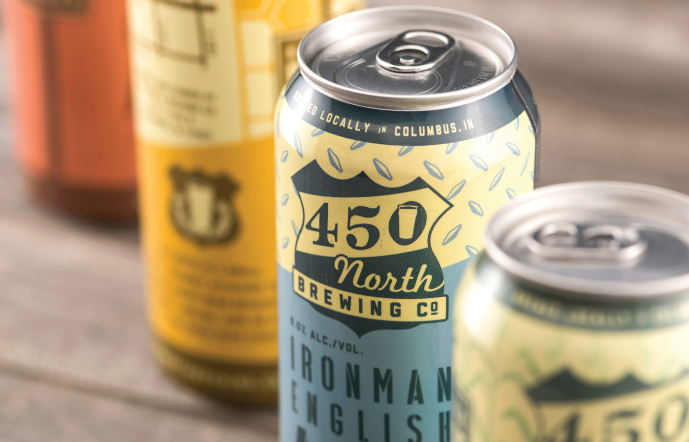450 North Brewing by CODO Design.